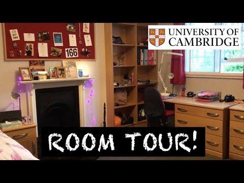 CAMBRIDGE UNI ROOM TOUR! (Jesus College)