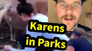 Karens in Parks | Comedy React | SmileyDaveUK