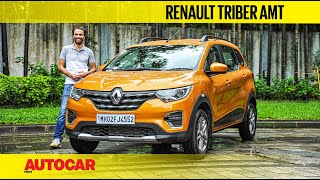 Renault Triber AMT review - Easy does it | First Drive | Autocar India