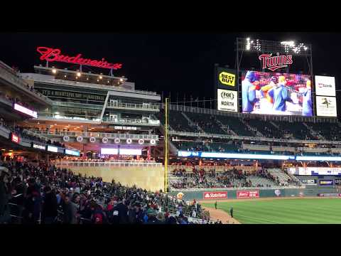 Target Field, Minneapolis, Minnesota, home of the Twins