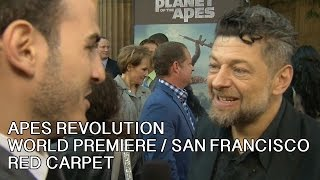 Apes Revolution - Interviste sul red carpet a San Francisco