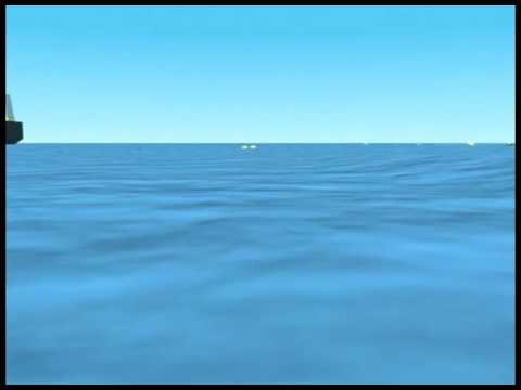[Seismic channel]▶ Hydrographic survey   Mooring acitvity animation