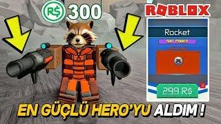 300$ ROBUX İLE EN GÜÇLÜ HEROYU ALIP BİTİRDİM ! SuperHero Simulator / Roblox Türkçe