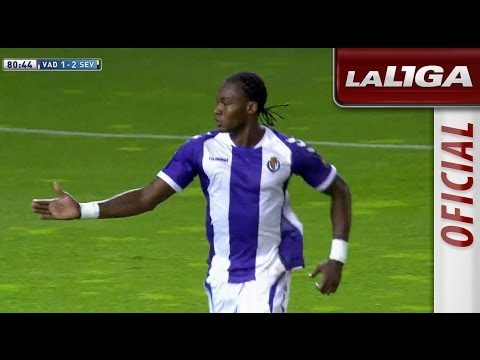 Gol de Manucho (1-2) en el Real Valladolid - Sevilla FC - HD