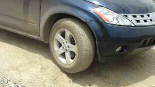 Nissan Murano  Off Road using ABS