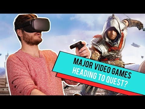 Assassins Creed & Splinter Cell VR Heading To Oculus Quest? - Let's Quest Games!