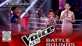 "The Voice Kids Philippines 2015 Battle Performance: ""Fireflies"" by Benedict vs Christian vs Sim"