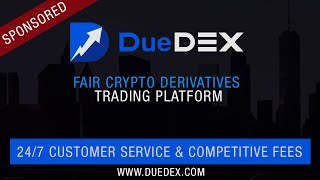 DueDEX Crypto Exchange Tutorial: How to Long or Short Bitcoin | Leverage Trading [Review]