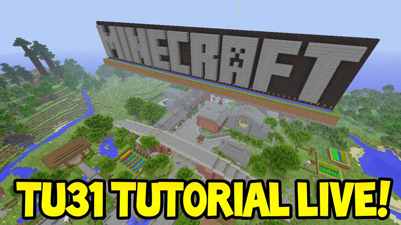 LIVE Minecraft Xbox360PS3 Title Update 31 NEW
