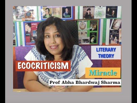 English Literature: Literary Theory : Ecocriticism