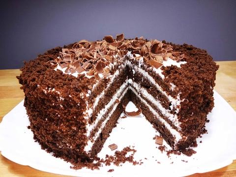 Как приготовить торт черный принц в домашних условиях