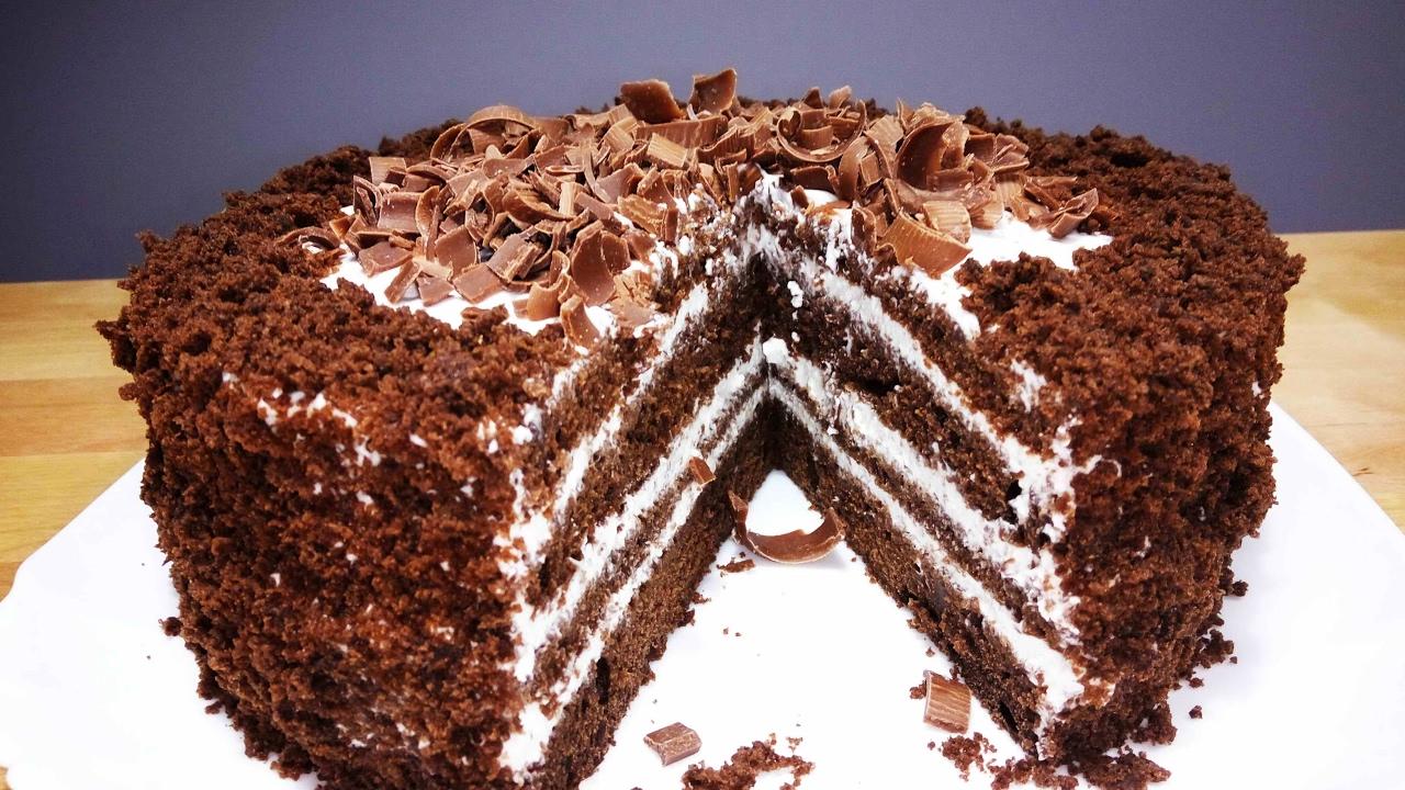 Рецепт тортов в домашних условиях черный принц