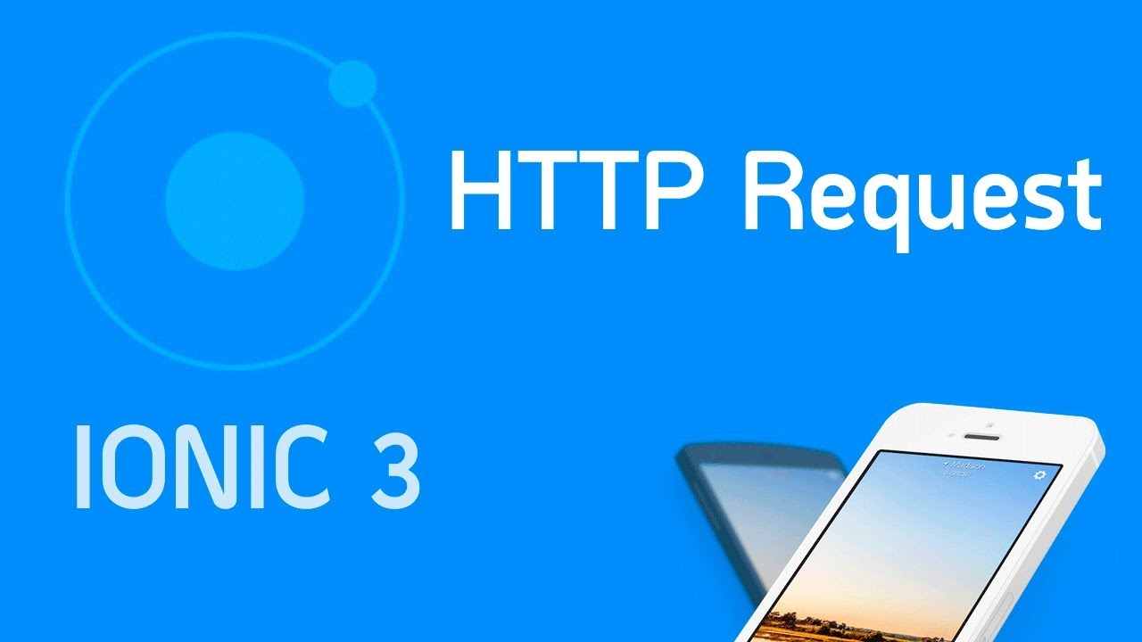 Ionic 3 Tutorial #4 Retrieving Data with HTTP