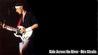 Dire Straits- Ride Across The River (Lyrics on screen)