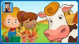 Животные на ферме * Помогаем фермеру работать в игре для детей Dirty Farm от MagisterApp