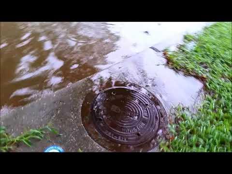 Hurricane Harvey Flooding of Woodstream Village in Kingwood 2