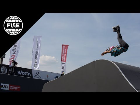 FISE Budapest 2017: FIRS Roller Freestyle Park World Cup Final - REPLAY