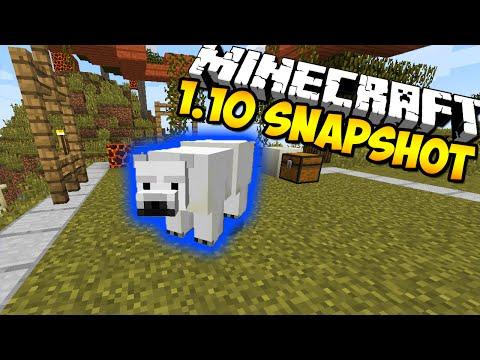 Minecraft Snapshot 16w20a - POLAR BEARS, NEW SKELETONS & ZOMBIES, & MORE!