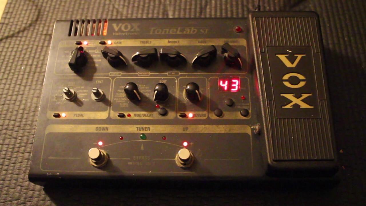 Vox tonelab le review | musicradar.