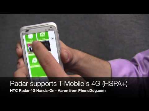 HTC Radar 4G Hands-On