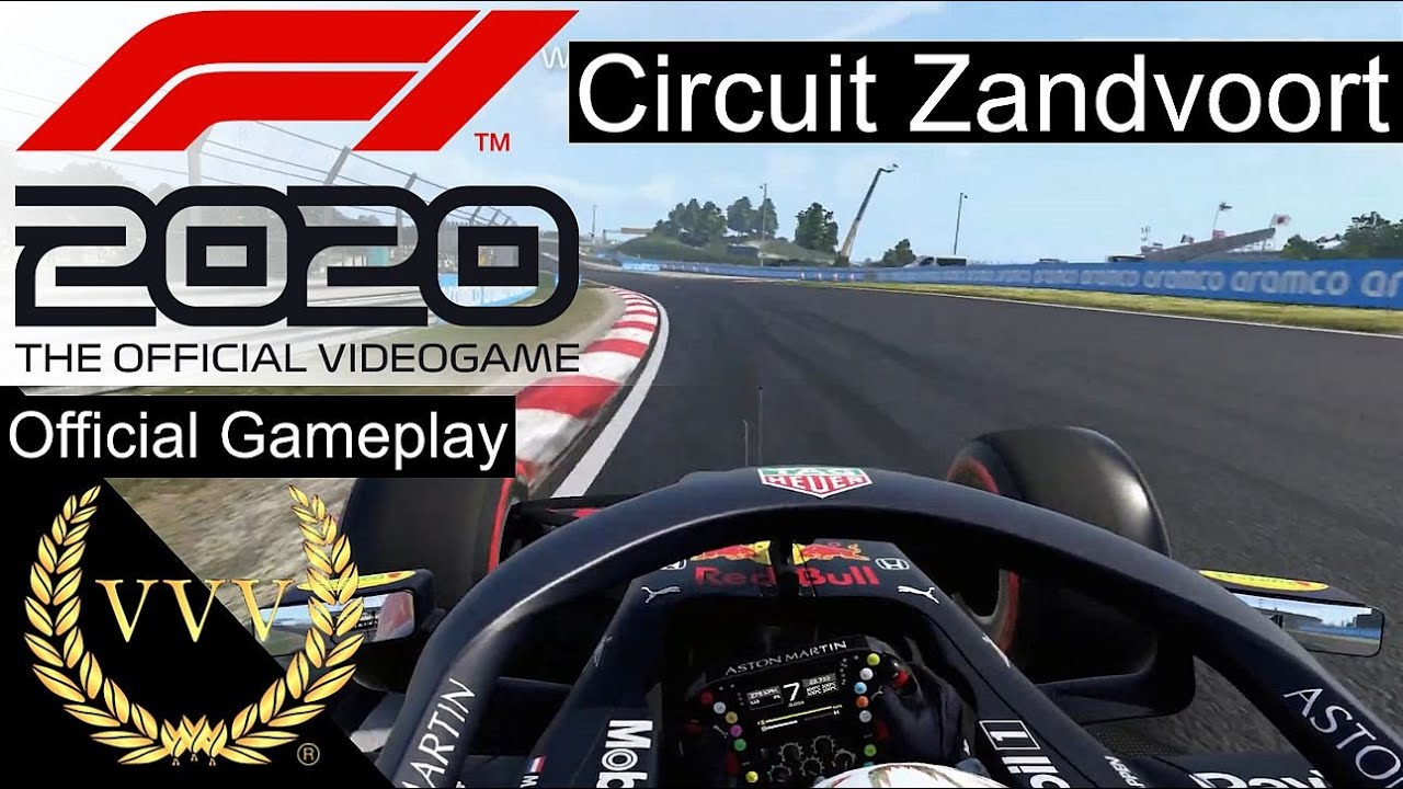 F1 2020 Circuit Zandvoort Official Gameplay Youtube