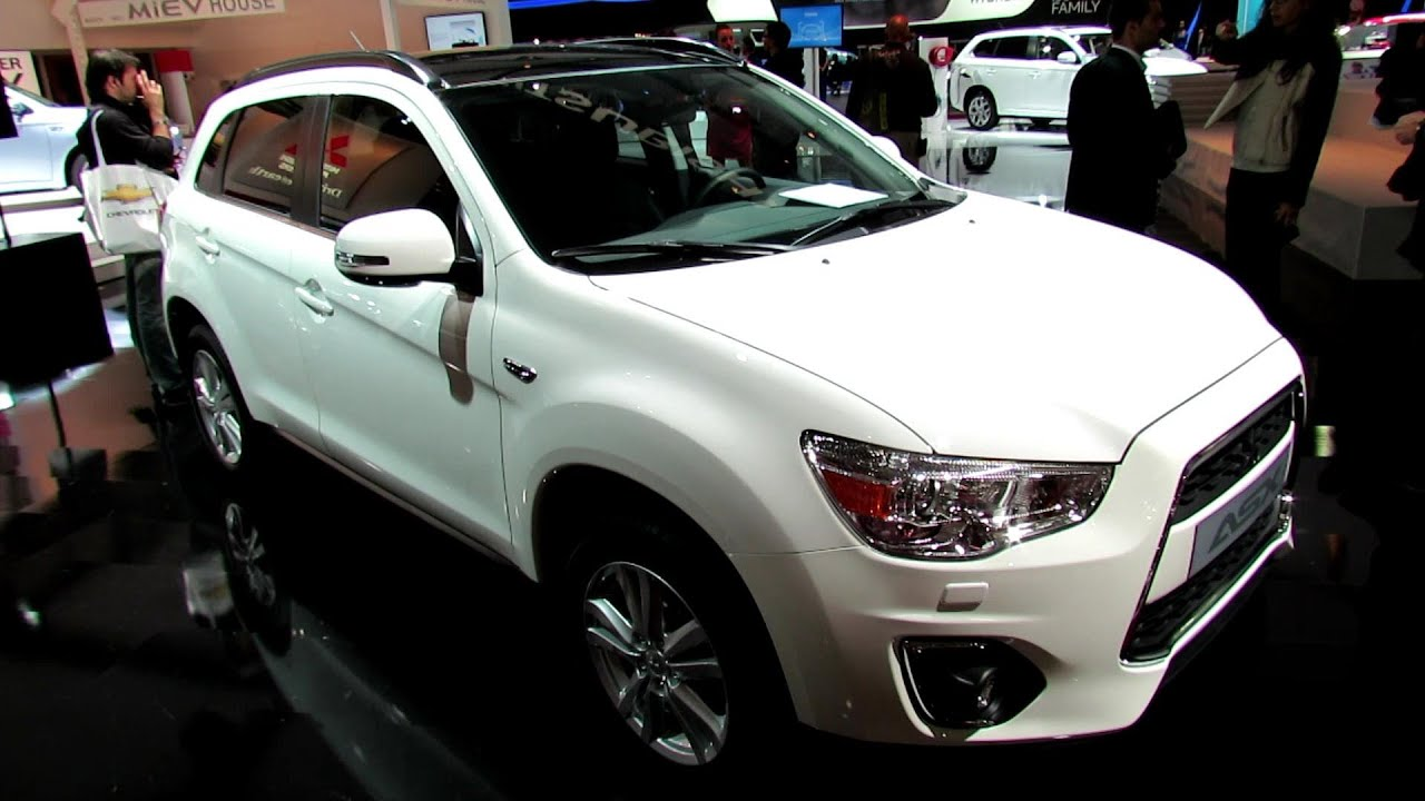 2013 Mitsubishi Asx Exterior And Interior Walkaround