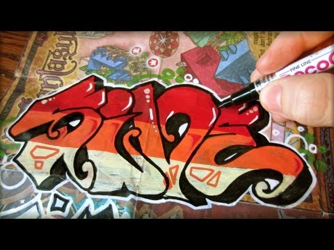 Graffiti Colab Poster and Stickers