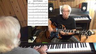 Jumpin At The Woodside - Jazz guitar & piano cover ( Count Basie )