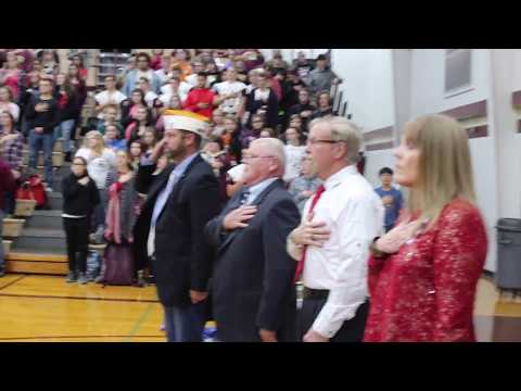 Eldon High School Veterans assembly 11 10 17