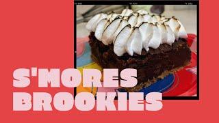 S&#39mores Brookie Recipe Video