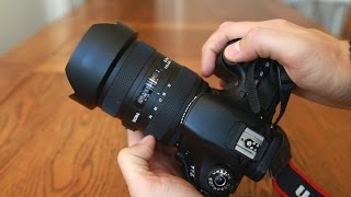Sigma 12-24mm f/4.5-5.6 DG HSM ii lens review with samples (Full-frame & APS-C)
