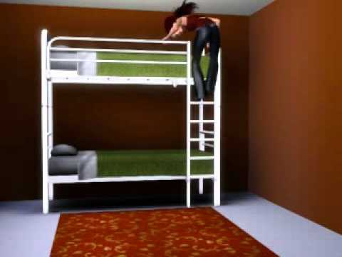 sims 3 lbensfreude hochbett youtube. Black Bedroom Furniture Sets. Home Design Ideas