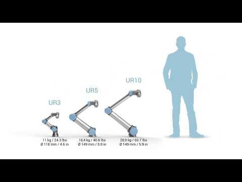 Universal Robots - UR Size - YouTube