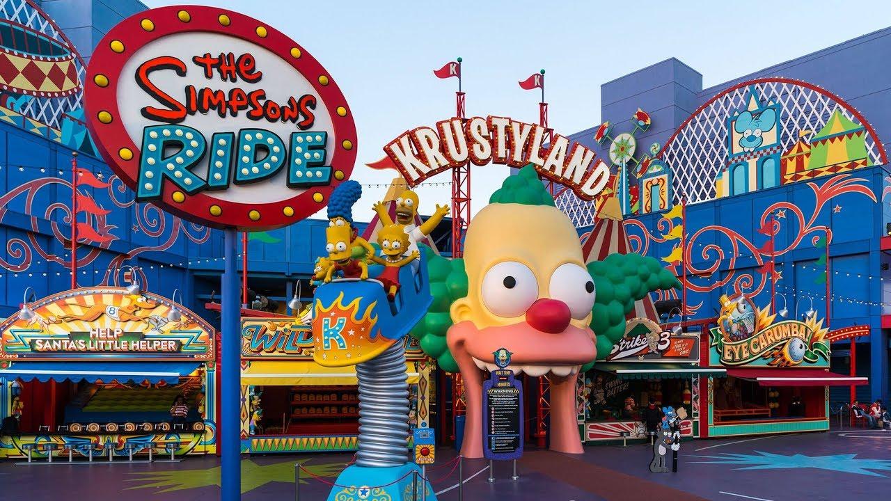 The Simpsons Ride | Universal Studios - YouTube