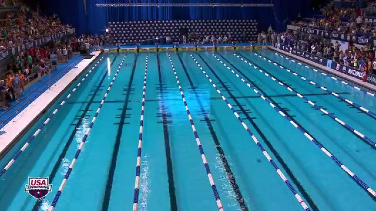 Men's 100 Freestyle A Final   2013 Phillips 66 National Championships