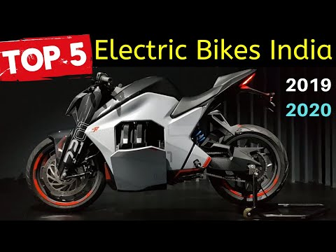 Top 5 Best Electric Motorcycles in India 2019|2020