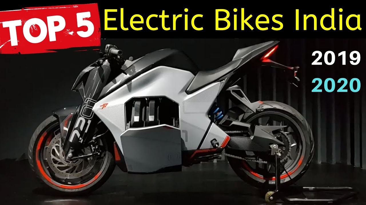 Top 5 Best Electric Motorcycles in India 2019|2020 - YouTube