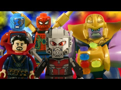LEGO AVENGERS INFINITY WAR THE MOVIE - COMING TOMORROW - MARVEL STOP MOTION