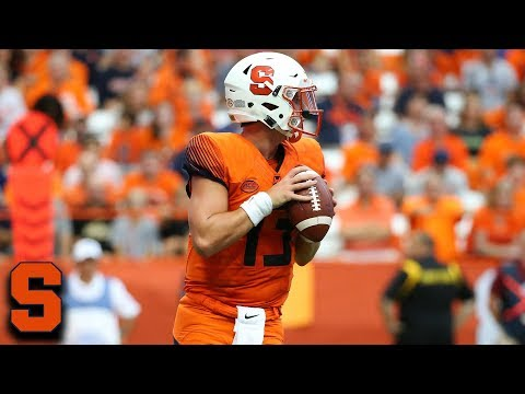 Syracuse QB Tommy DeVito Top Plays 2018