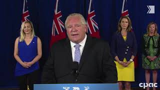 Ford criticizes Grade 9 streaming; says it's