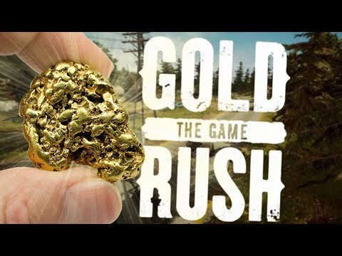 Gold Rush: The Game - Digging & Panning for Gold! - Gold Mining Sim - Gold Rush Pre-Alpha Gameplay