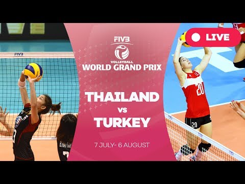 Thailand v Turkey - Group 1: 2017 FIVB Volleyball World Grand Prix