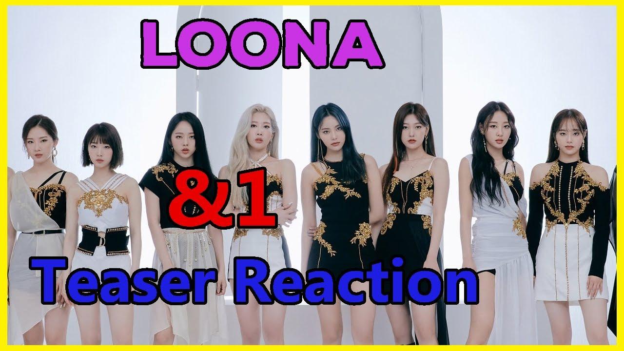 LOONA (이달의 소녀) - &1 Teaser Reaction + ONLINE CONCERT LIVE REACTION ANNOUNCEMENT!