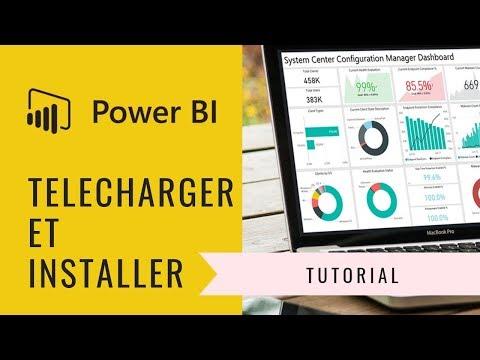 #001   Telecharger Et Installer Power BI Desktop