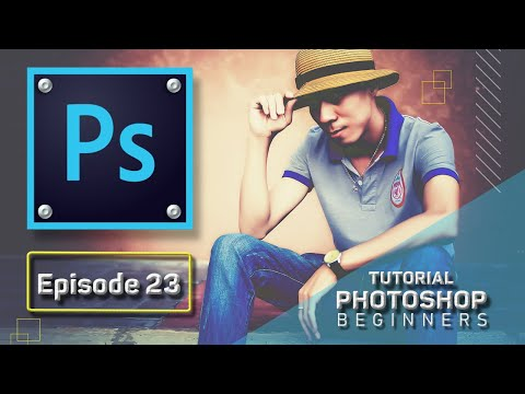 Bài 23 Foreground Color, Background Color, Edit in Quick Mask Mode   Photoshop CC 2020 Căn Bản