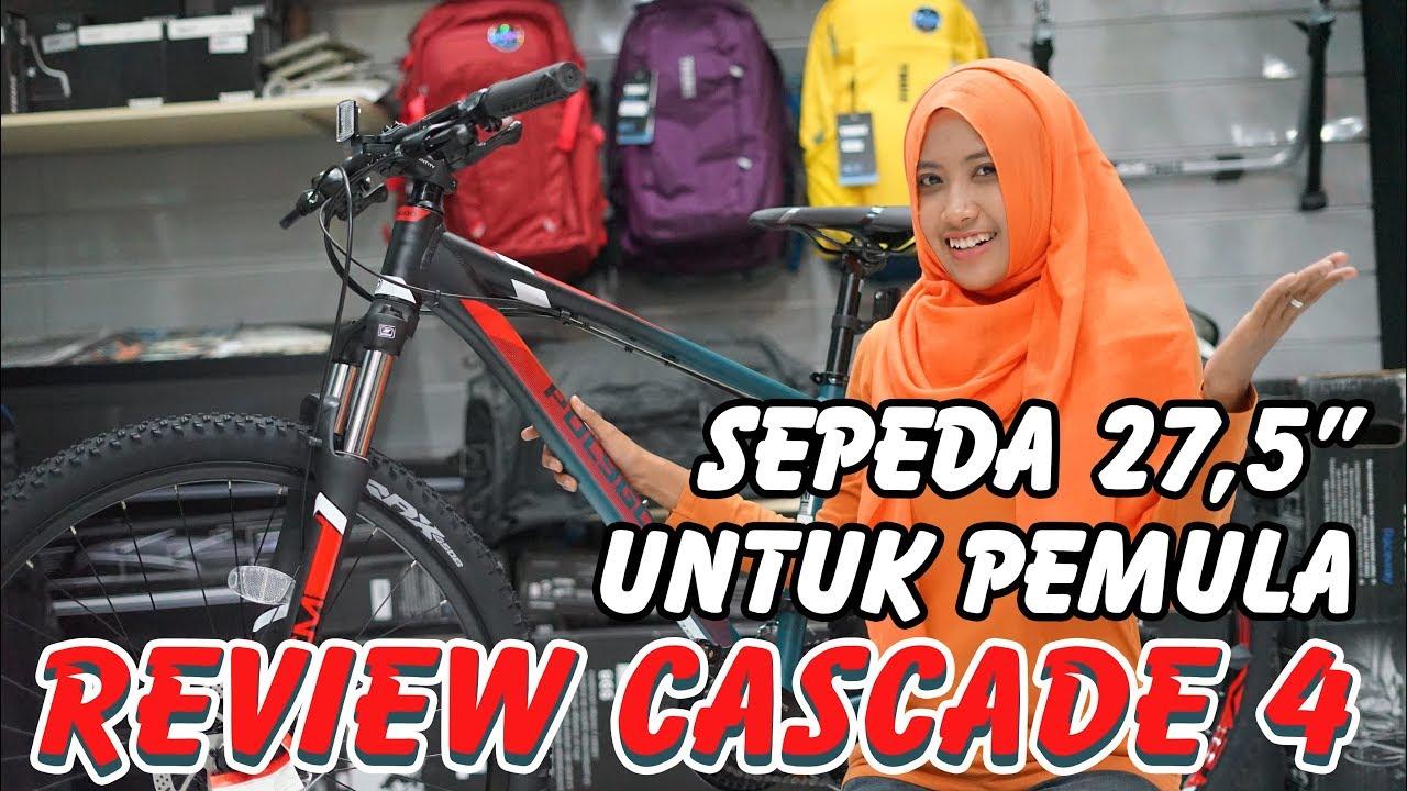 Review Polygon Cascade 4 Sepeda Pemula 27.5 - YouTube