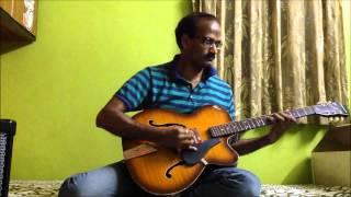 Jadoo teri nazar  - Guitar Instrumental Sreekumar Nair