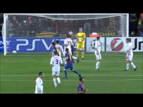 5 goles de LEO MESSI al Bayer Leverkusen 2012 por Champions League