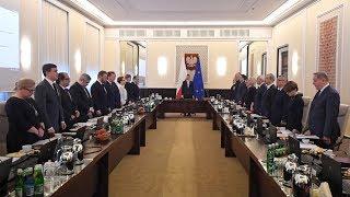 Konferencja prasowa premiera Mateusza Morawieckiego po posiedzeniu rządu
