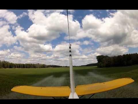 PZL M 18 Dromader working in Ontario